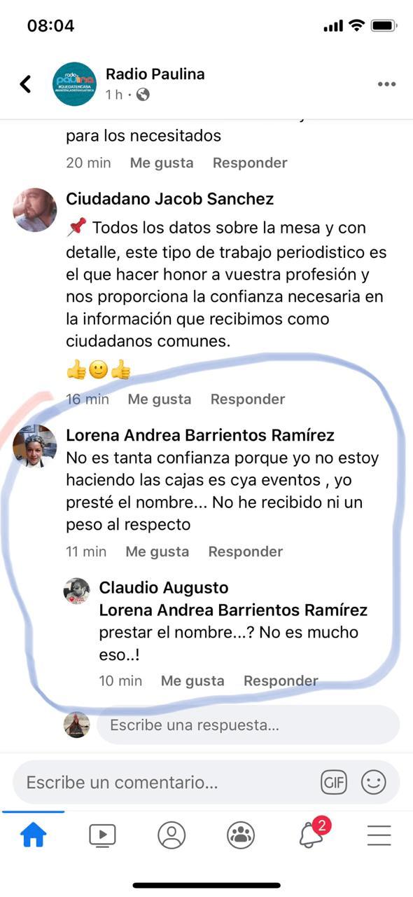 foto lorena barrientos